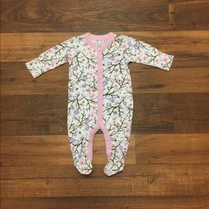 Old navy baby girl pajama size 3-6 months🧸🎀🍼